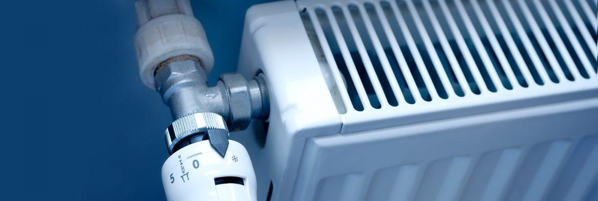 συντήρηση της κεντρικής θέρμανσης (καυστήρων, θερμαντικών σωμάτων)