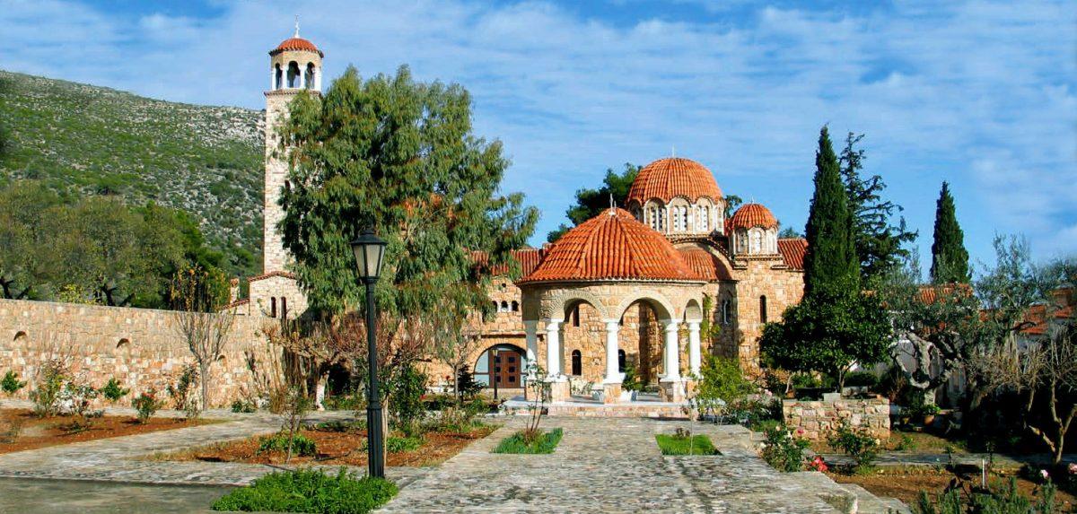 Ιερά Μονή Αγίου Εφραίμ Νέας Μάκρης
