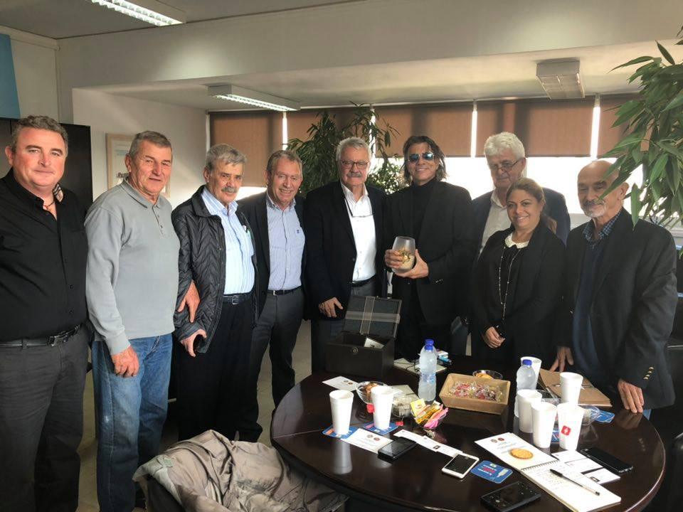 Επίσκεψη Τουρκικής Αντιπροσωπίας Συνύπαρξη και Επικοινωνία στο Αιγαίο