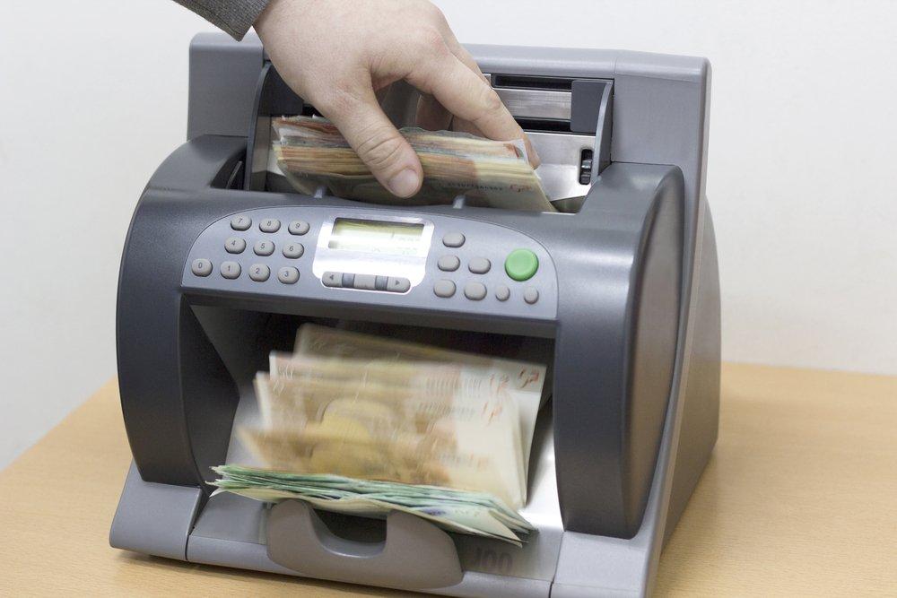 καταμετρητής – ανιχνευτής χαρτονομισμάτων